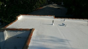 This Flat Roof Is in Good Shape